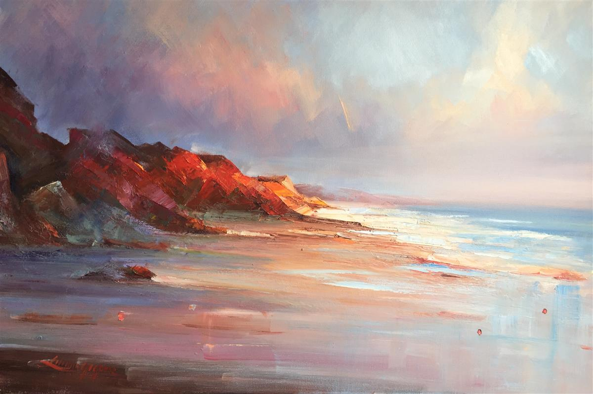 cape leveque #7 painting liliana gigovic