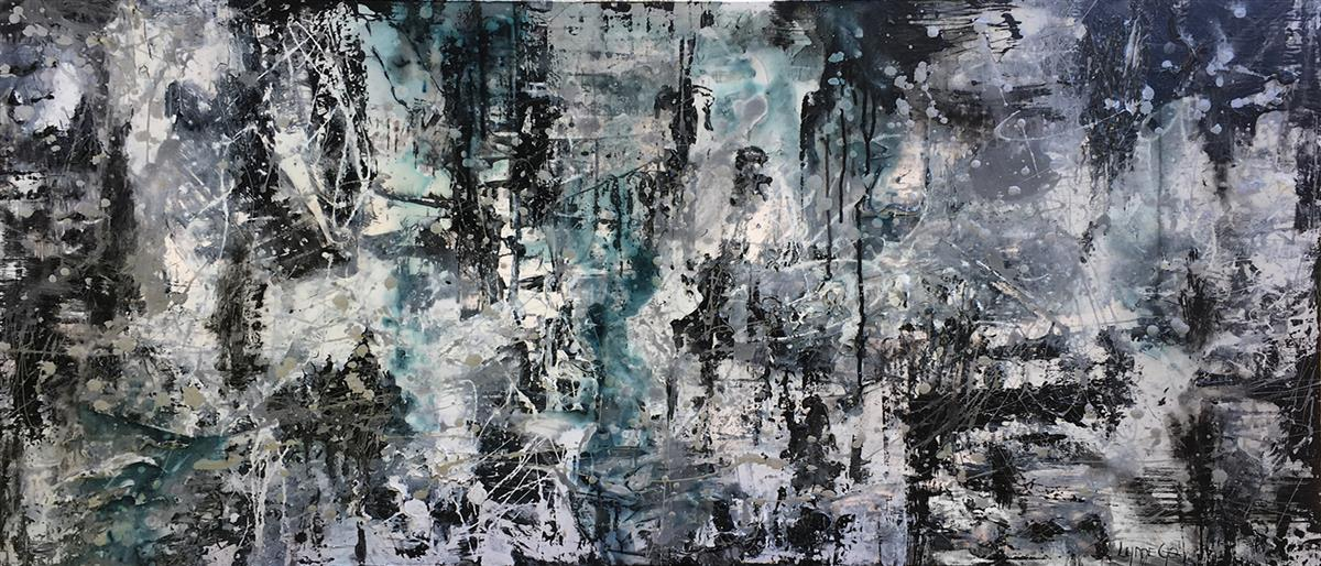 smoke and mirrors large scale abstract lynne godina-orme
