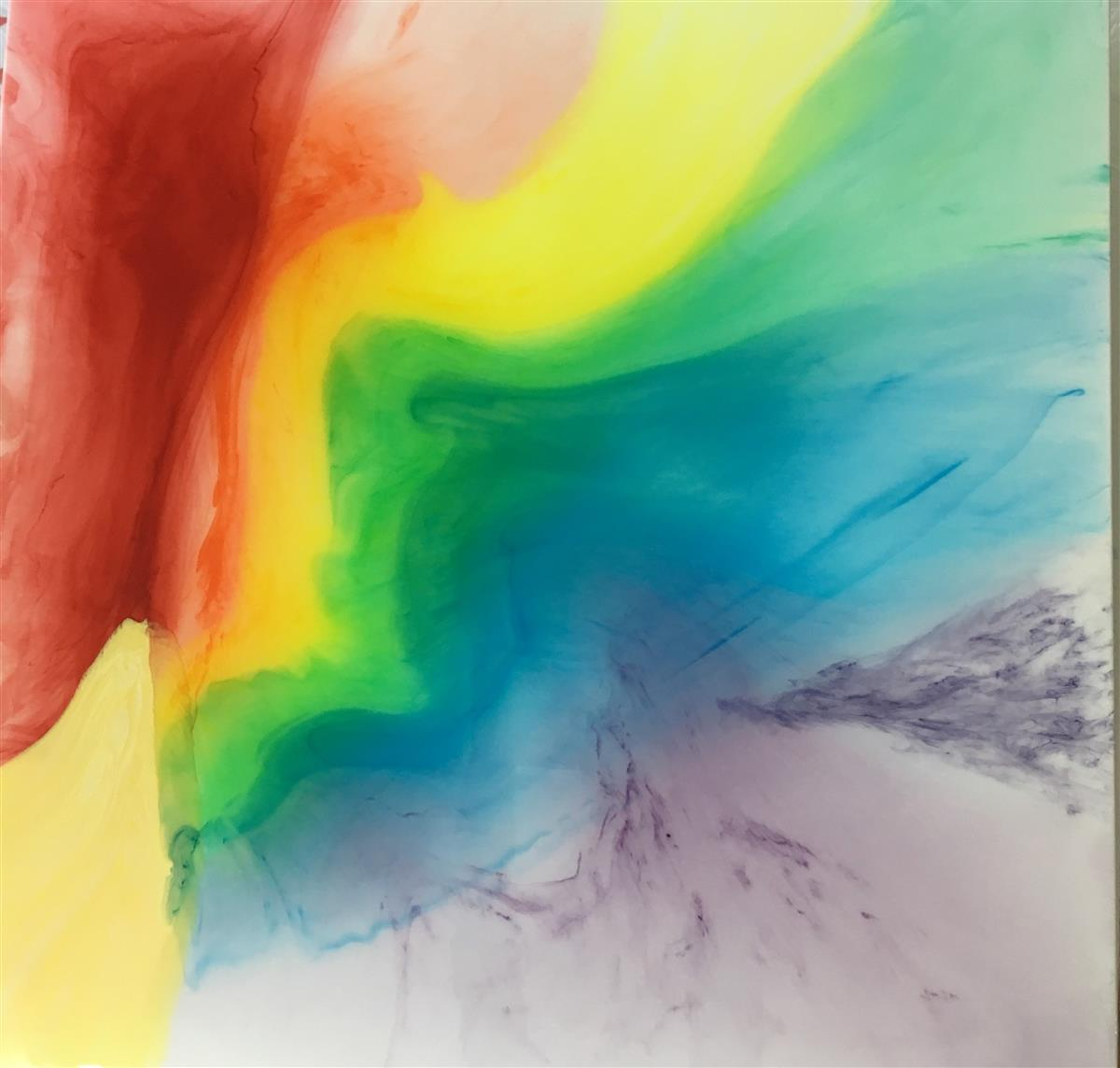 over the rainbow painting penny sasso