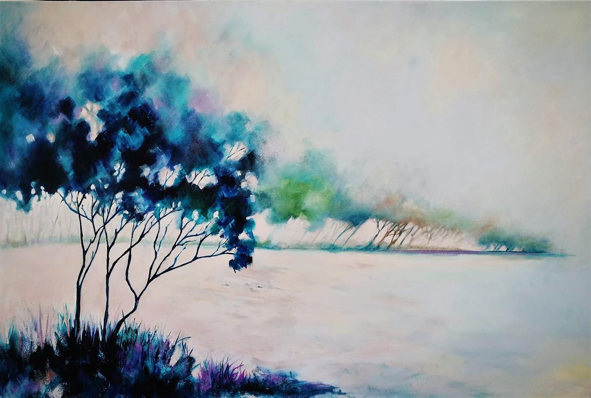 windblown painting lucinda leveille
