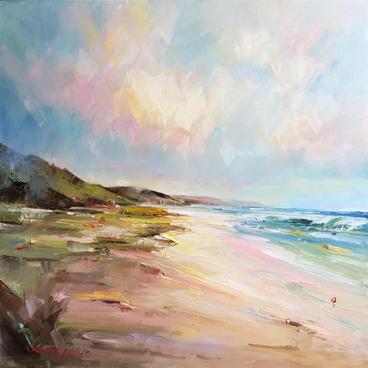portsea- the back beach # 10 painting liliana gigovic