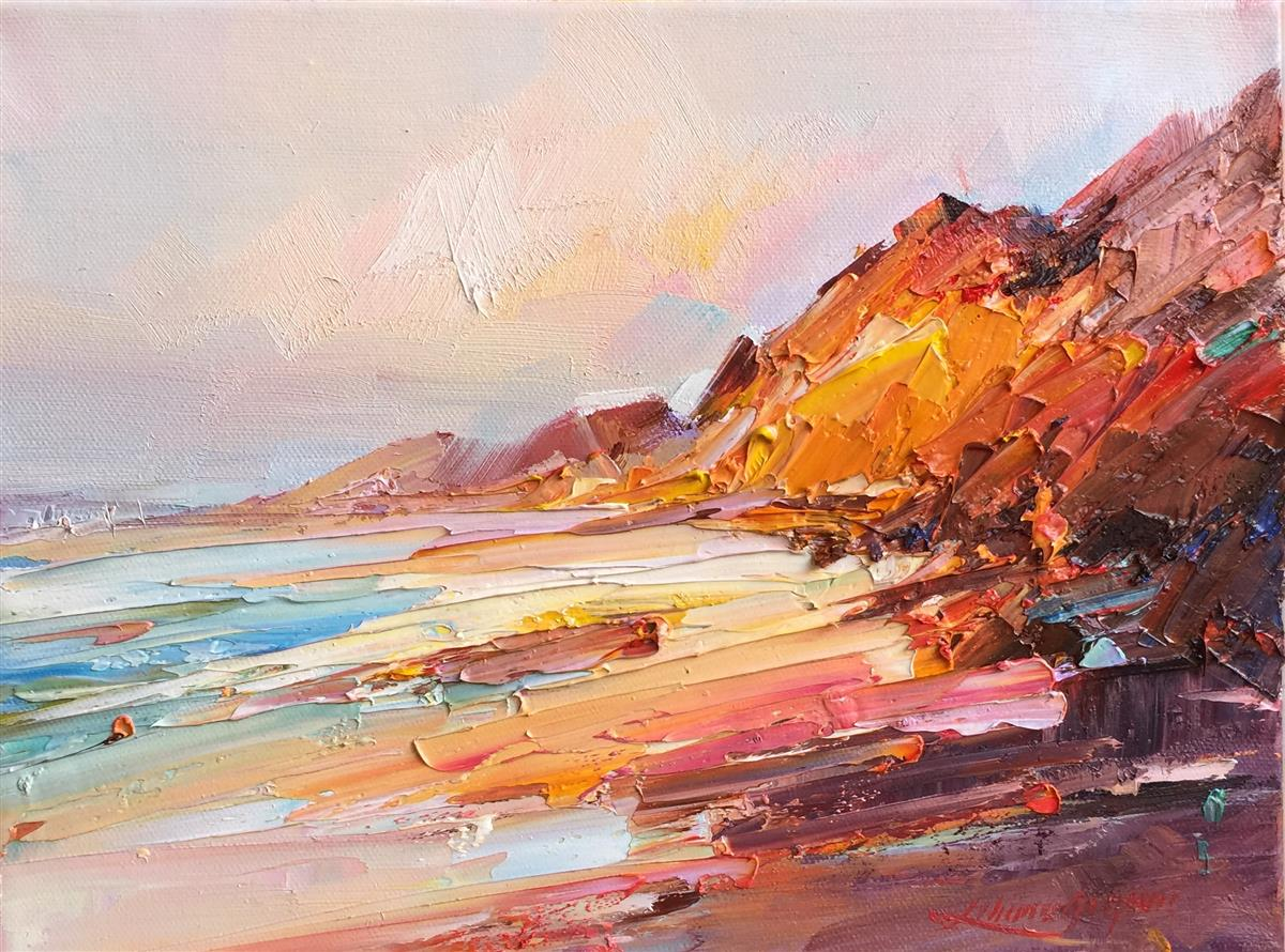 cape leveque #8 painting liliana gigovic