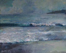 wave of choice painting trevor salisbury