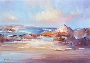 bay of fires no 6 painting liliana gigovic