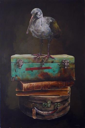 the displaced ibis painting grace kotze