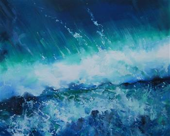 wave action take 2 painting trevor salisbury