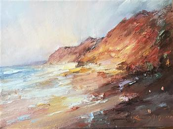 cape leveque #9 painting liliana gigovic